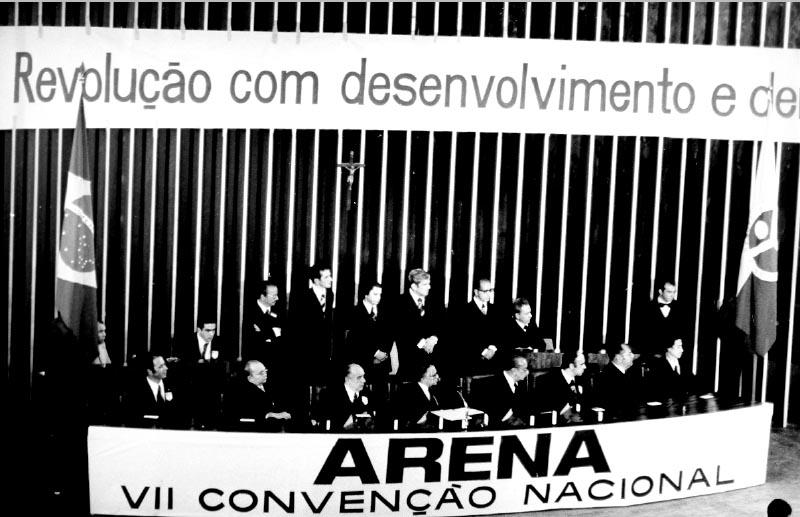 VII Convenção Nacional da Arena. Brasília, 8 e 9 de abril de 1978. FGV/CPDOC, Coleção Arena.
