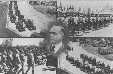 Cartão postal de propaganda do Estado Novo. S.d. FGV/CPDOC, Arq. Getúlio Vargas.