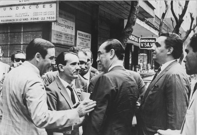 Juscelino Kubitsheck no Rio de Janeiro. 11 de setembro de 1967. Arquivo Público do Estado de São Paulo/Última Hora.