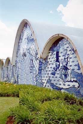 Igreja de São Francisco de Assis, na Pampulha. Belo Horizonte, s.d.