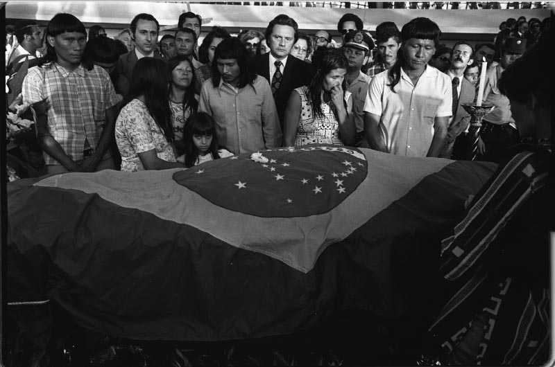 Funeral de Juscelino Kubitsheck. Brasília, 23 de agosto de 1976. Agência O Globo.
