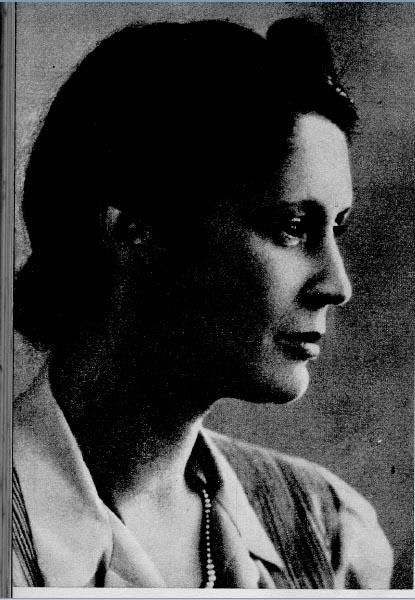 Maria da Conceição, ou Naná, irmã de Juscelino Kubitshec. S.I., s.d. Reproduzido do livro Meu caminho para Brasília, de Juscelino Kubitsheck. Rio de Janeiro, Bloch Editores S.A, 1974.