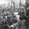 Getúlio Vargas durante campanha presidencial em São Paulo, entre agosto e setembro de 1950. FGV/CPDOC. Arq. Getúlio Vargas.